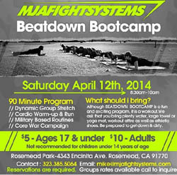 Nutrishop MP - MJA Fight Systems Beatdown Bootcamp - Rosemead